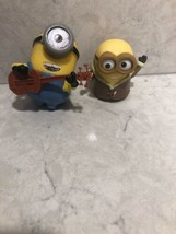Bored Silly Bob Minion Action Figure Thinkway Toys And Guitar Playing Mi... - $10.95