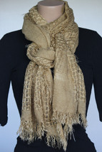 NEW CEJON Camel Women's Neck Scarf or Wrap DW10138 - $11.87