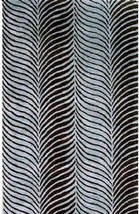 "Bashian Greenwich R129 HG228 Ratna + Art Silk Blue Closeout Area Rug 3""9"" x 5'9"" - $138.59"