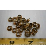 Rivet G$7-4 Yellow zinc Plated 3/16 ID 3/8 OD LOT of - 100#1037 - Qualit... - $24.56