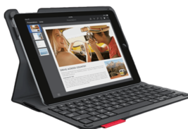 Logitech 920-006912 Type+ Case with Integrated Keyboard for iPad Air 2 - Black - $98.89