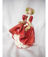 "Royal Doulton Figurine Top o' the Hill HN1834 1937  8"" Tall - $120.29"