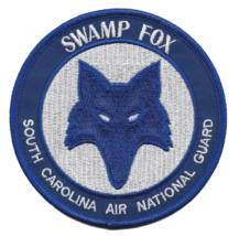 """4"""" Air Force 169TH Swamp Fox South Carolina Air National Group Embroidered Patch - $23.74"""