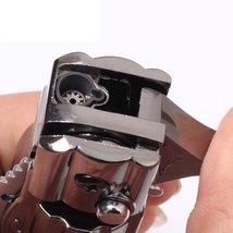 Folding Knife Windproof Refillable Butane Gas Trip Jet Flame Cigarette Lighter - image 6