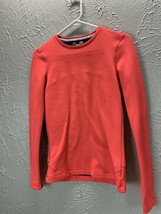 UNDER ARMOUR WOMEN'S COLD GEAR Salmon LONG SLEEVE FITTED SHIRT SIZE Small - $16.79