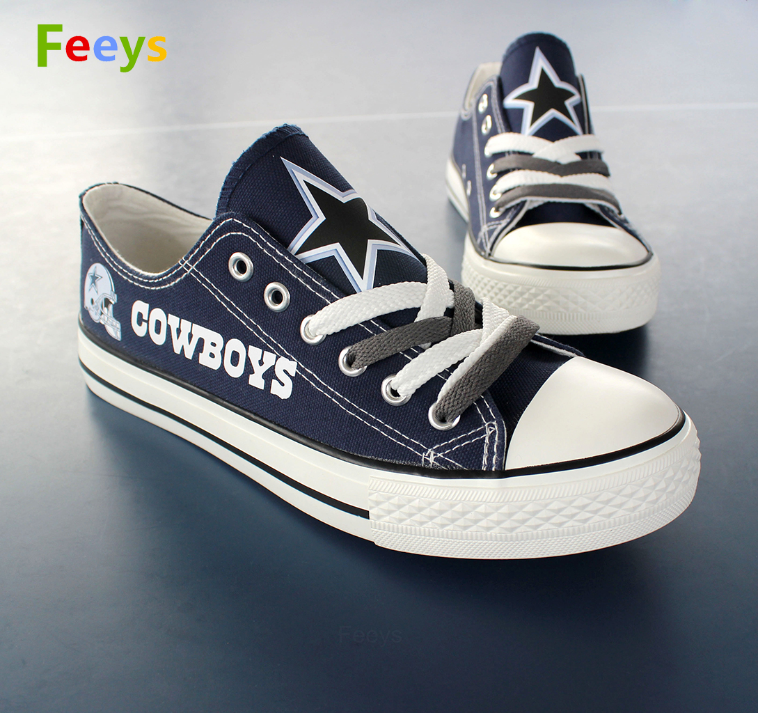 Dallas Cowboys shoes Cowboys sneakers Fashion Christmas gift birthday gift for