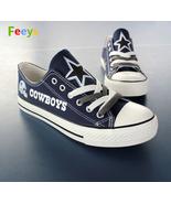 Dallas Cowboys shoes Cowboys sneakers Fashion Christmas gift birthday gi... - $59.99+