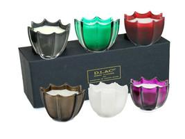 D.L. & Co. Rare Botanic - 2 Set of 3 - Votive Scented Candles Gift Set  - $53.85