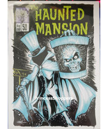 Disney Frameable Art Postcard Haunted Mansion 50 Hatbox Ghost by Brian C... - $14.80