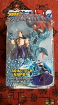 NOS 2006 THE AMAZING  SPIDER MAN AQUA TECH NAMOR 0n Card Marvel - $4.74