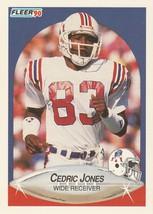1990 Fleer #321 Cedric Jones RC - $0.50