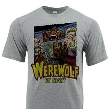Werewolf By Night Dri Fit graphic T-shirt moisture wick superhero comic SPF tee image 1