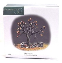 Department 56 Fieldstone Wall w/ Apple Tree Village Accessories #52768 - £16.42 GBP