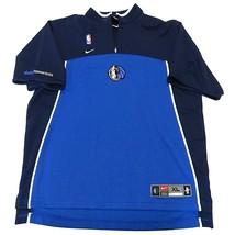 Nike NBA Dallas Mavericks Basketball Jersey Style Warm Up Shirt Adult Size XL - $59.35