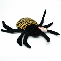 1996 TY Beanie Baby Original Spinner the Spider PVC Retired Plush Toy Doll