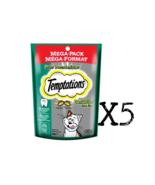 WHISKAS Temptations Cat Treats - DENTABITES 130g X 5 = 650g Package Cana... - $18.67