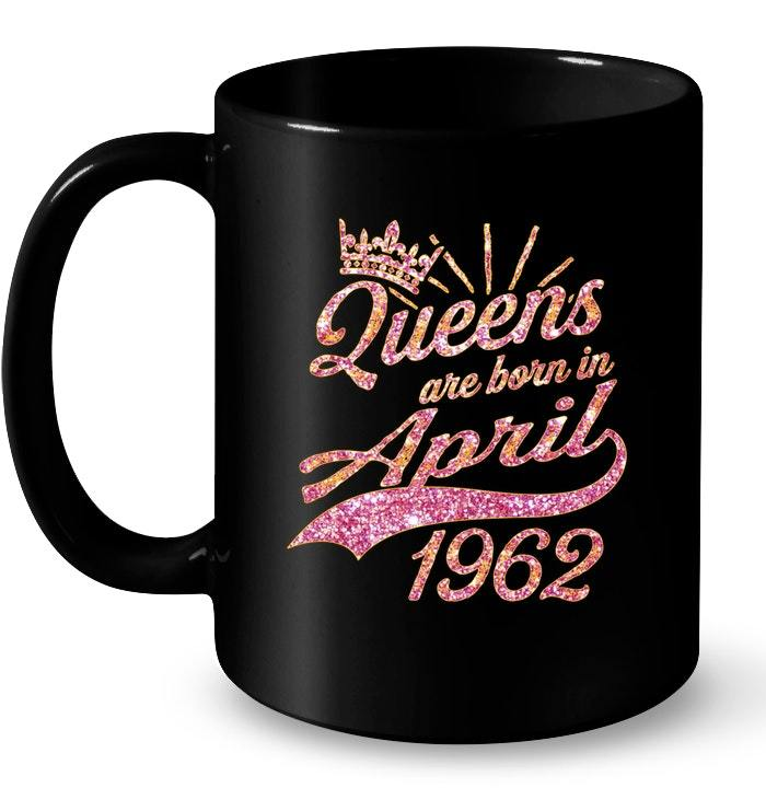 Primary image for Queens born in April 1962 56th Birthday Gift 56 years old