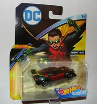 DC Hot Wheels Robin 2.OT Character Car First Appearance 2018 New - $14.01