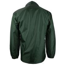 Renegade Men's Lightweight Water Resistant Button Up Windbreaker Coach Jacket image 7