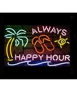 "Neon Happy Hour Bar Wall Art Sign  16"" x 28"" x 3"" - $319.99"