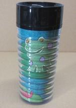 STARBUCKS COFFEE COMPANY 12 oz Thermo-Serv FROGS BY NANCY COFFELT TRAVEL... - $28.63