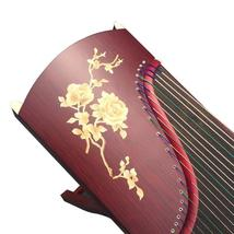 21 Strings 163cm Guzheng Redwood Grass Flower Teaching and Playing Zither - $399.00