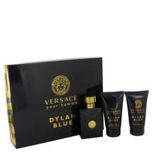 Versace Dylan Blue Pour Homme Cologne 1.7 Oz Eau De Toilette Spray Gift Set image 1