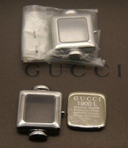 New Gucci Replacement Case Set, Case, Crystal and Back - 1900 L -  SS - $74.95
