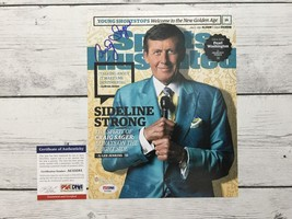 Craig Sager Signed Sports Illustrated SI 8x10 Photo PSA/DNA COA Autograp... - £60.68 GBP
