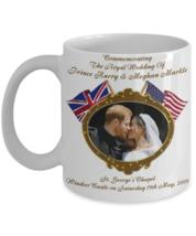 Prince Harry And Meghan Markle Royal Wedding Commemorative Coffee Mug - $14.84+