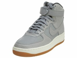 Nike Air Force 1 HI Premium Womens 654440-008 Silver Glaze Basketball  S... - $109.99