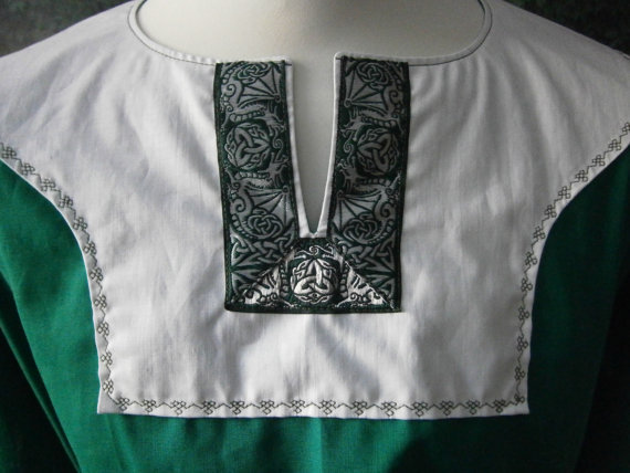 Medieval Tunic, Vikings, Renaissance Tunic, Cotton Tunic, Wedding