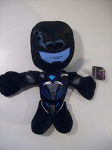 "New Saban's Power Rangers Movie Black Power Ranger 11"" Plush Just Play Hero - $11.71"