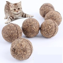 Cat natural 100% organic healthy safe Treat Ball Favor Home Chasing Toy - $1.99