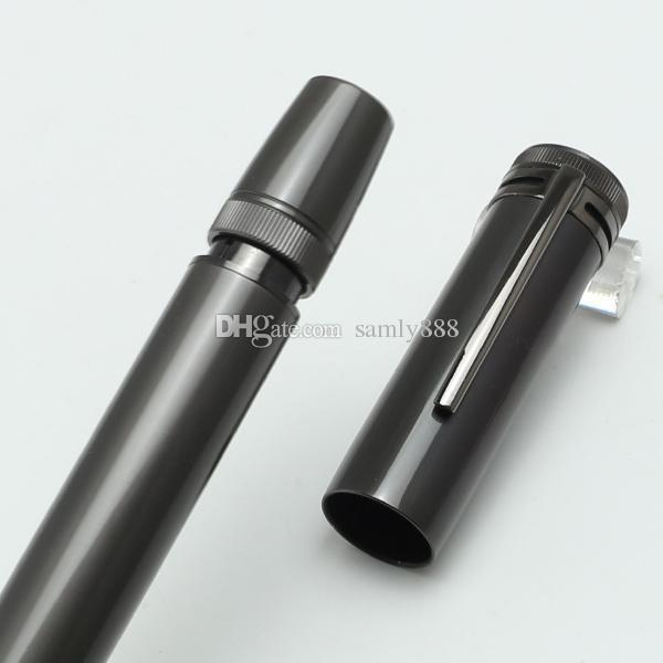 Luxury High Quality Collection Piston gray fountian pen With retractable nib mov