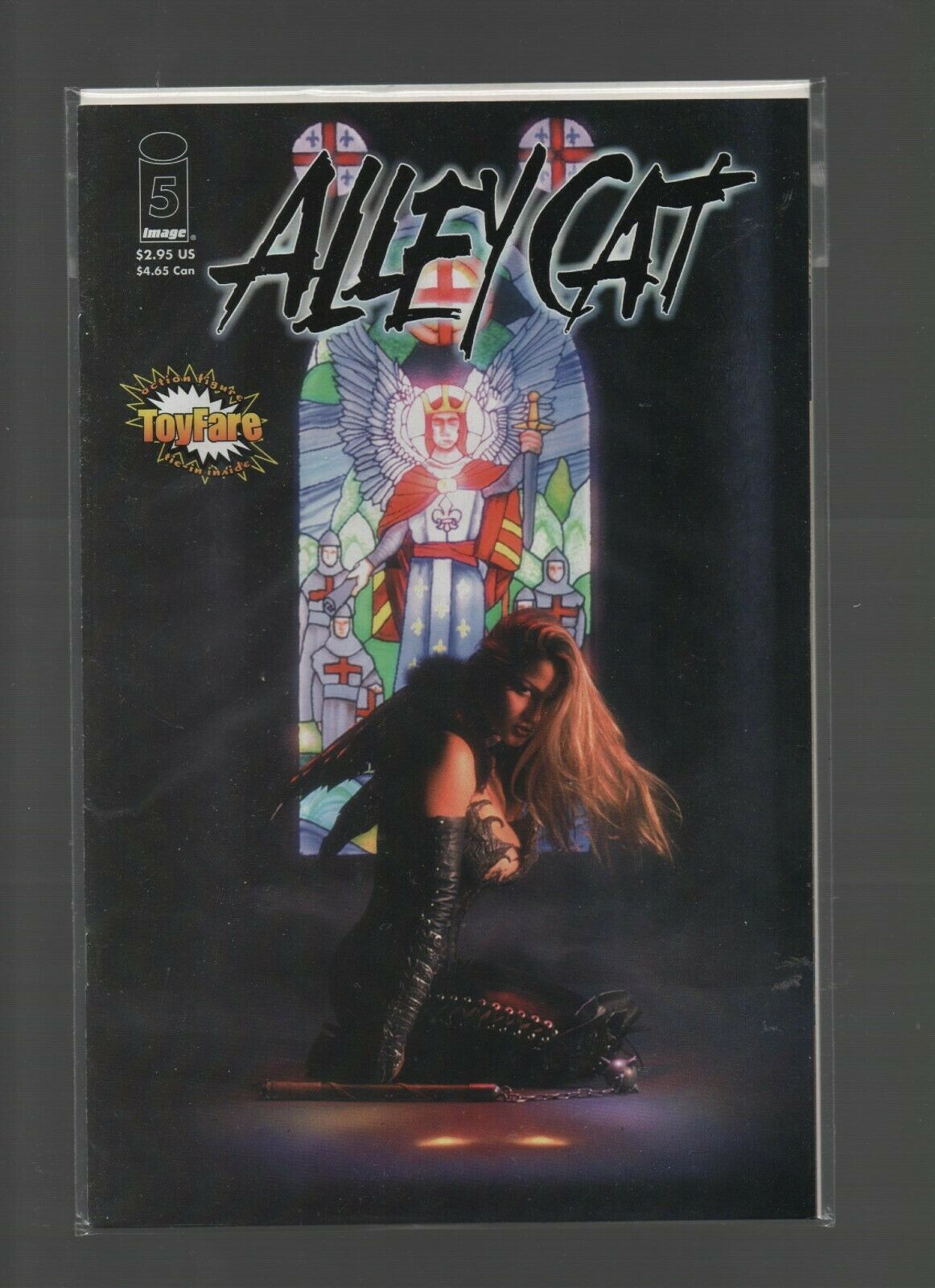 Alley Cat #5 - Image Comics - Alley Baggett - 1999 - Martyr Part 2 - ToyFare.