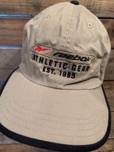 REEBOK Athletic Gear Est 1895 Khaki Adjustable Adult Cap Hat - $12.86