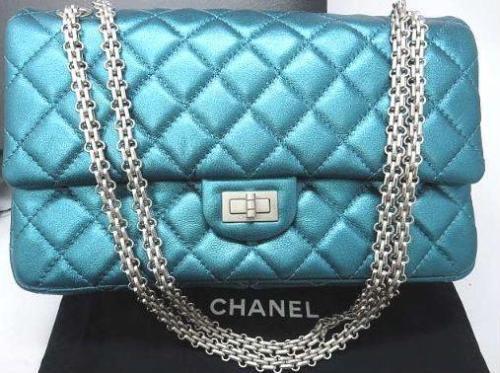 2ae5c54b6588 Auth CHANEL Shoulder Bag Blue Matelasse W and 10 similar items. 12