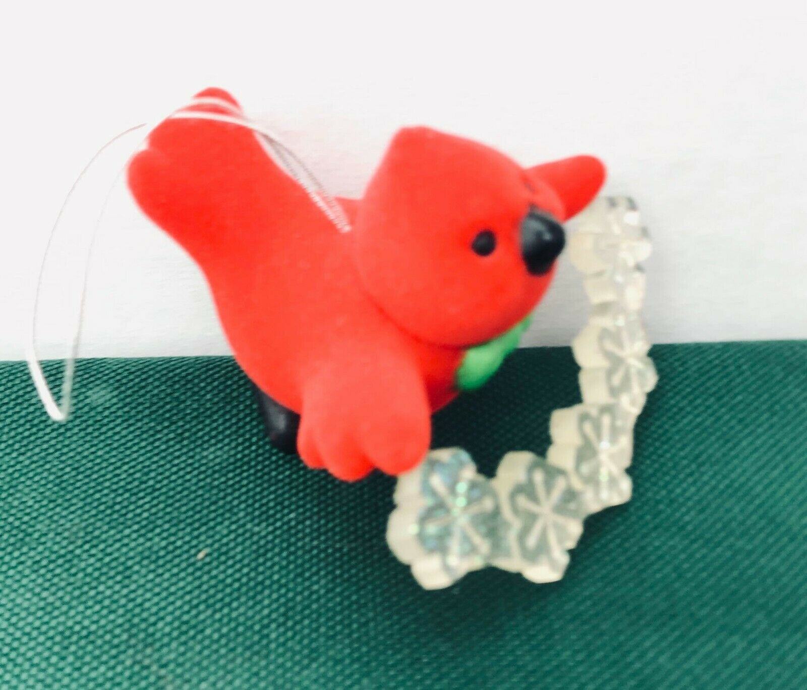 Avon Tree Trimmer Friends Cardinal Ornament Vintage
