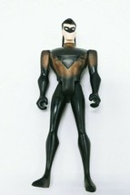 """1998 Kenner Black Force Shield Nightwing Robin 5"""" Action Figure DC - $3.99"""