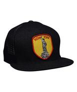 New York Trucker Hat - Black Trucker Hat by LET'S BE IRIE - Statue of Li... - £15.25 GBP