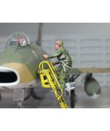 USAF Fighter Jet Pilot climbing on the ladder 1:48 Pro Built ModeL - $24.75