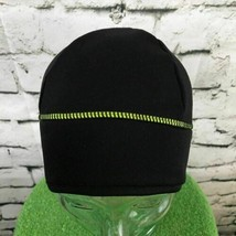 Champion Unisex One Sz Hat Black Athletic Stretch Beanie Warm Cap Ponyta... - $11.87