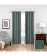 "Eclipse Bryson Room Darkening Grommet Window Curtain Panel Blue 52"" x 84"" - $24.74"