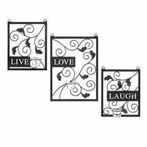 LIVE LOVE LAUGH WALL DECOR  - $42.99