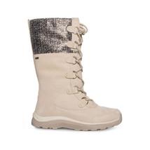 Ugg Atlason Frill Cream Waterproof Suede Toscana Women`s Boots Size Us 9.5 New - $163.99