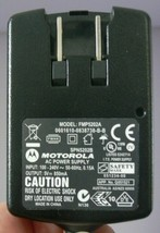 Genuine Motorola FMP5202A 5.0V AC Power Supply Adapter Tested Gently Used! - $11.87