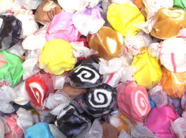 ASSORTED SALT WATER TAFFY 3Lbs ~Taffy Town ~ worlds best made in usa for... - $24.95