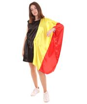 Adult Women 2018 World Cup Belgium Flag Dress Costume HC-907 - £13.22 GBP
