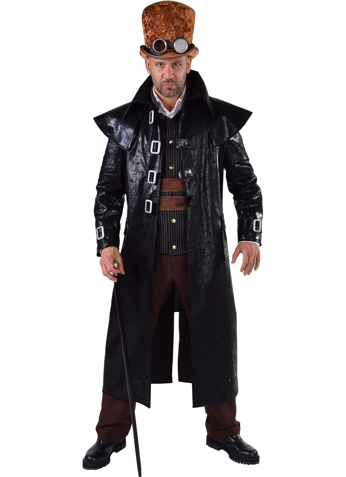 Trench Coat - Tough Man , Villain /Maverick/Highwayman/ Steam punk